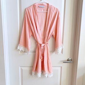 Blaire & Emily Kimono Style Robe | OS